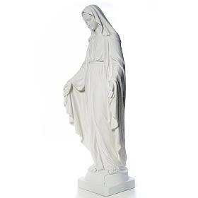 Madonna Miracolosa marmo sintetico 130 cm s6