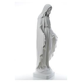 Madonna Miracolosa marmo sintetico 130 cm s16