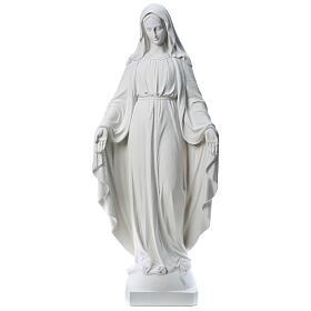 Nossa Senhora Milagrosa mármore sintético 130 cm