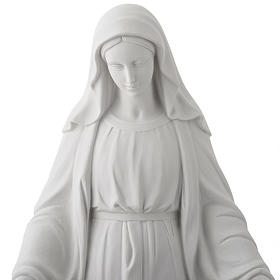 Our Lady of Miracles, 100 cm statue in reconstituted marble.