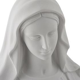 Estatua de Virgen de la Milagrosa 100cm  mármol sintetico s7