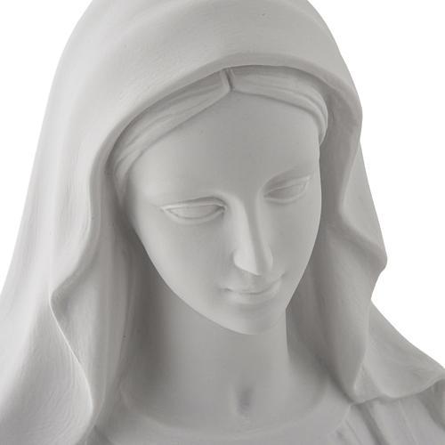 Estatua de Virgen de la Milagrosa 100cm  mármol sintetico 7