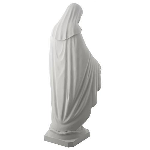 Estatua de Virgen de la Milagrosa 100cm  mármol sintetico 8