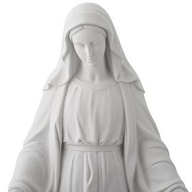 Statua Madonna Miracolosa marmo sintetico 100 cm s2