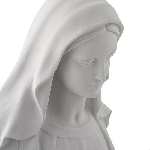 Statua Madonna Miracolosa marmo sintetico 100 cm 6