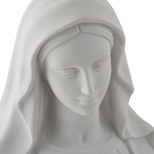 Imagem Nossa Senhora Milagrosa mármore sintético 100 cm 7