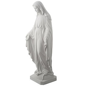 Our Lady of Miracles, 100 cm statue in composite marble s4