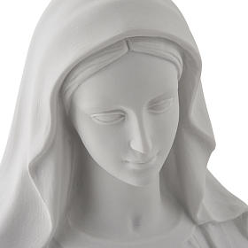 Our Lady of Miracles, 100 cm statue in composite marble s7