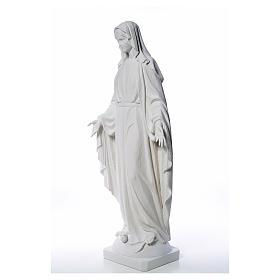 Estatua de Virgen de la Milagrosa de mármol 100 cm s18
