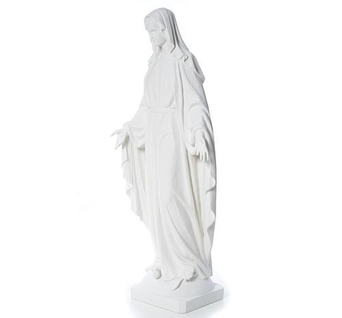 Estatua de Virgen de la Milagrosa de mármol 100 cm 6