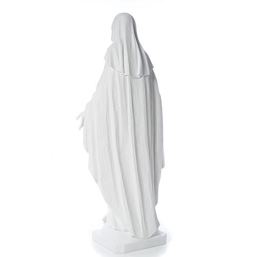 Estatua de Virgen de la Milagrosa de mármol 100 cm 7