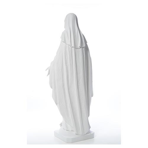 Estatua de Virgen de la Milagrosa de mármol 100 cm 15