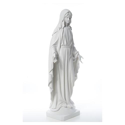 Estatua de Virgen de la Milagrosa de mármol 100 cm 16