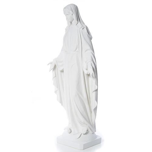 Estatua de Virgen de la Milagrosa de mármol 100 cm 2