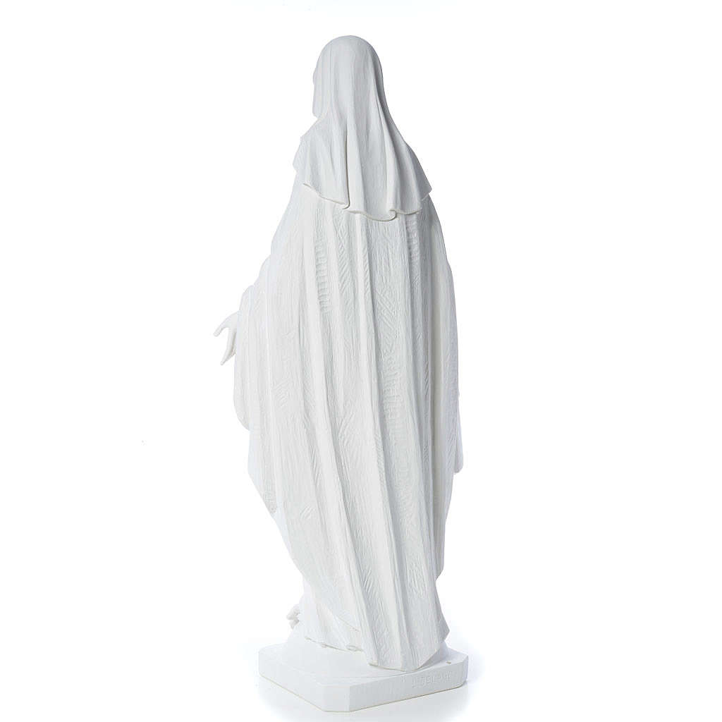 Figurka Cudowna Madonna marmur 100 cm 4