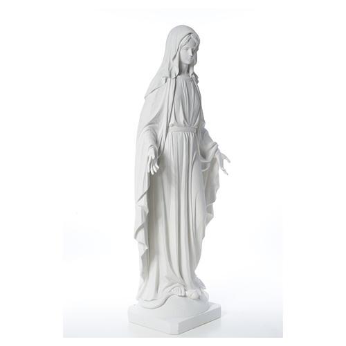 Figurka Cudowna Madonna marmur 100 cm 12