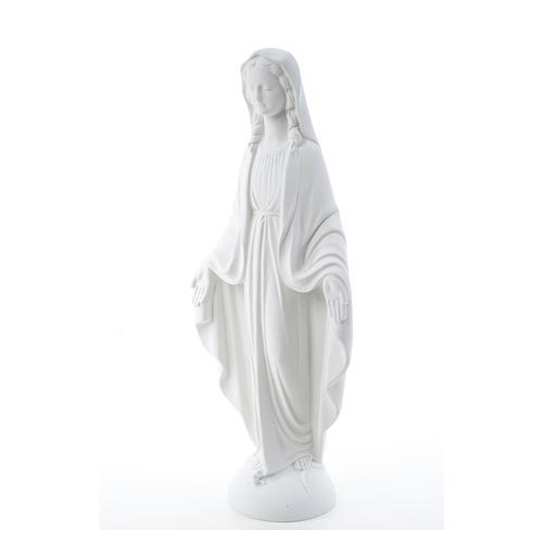 Statua Madonna Miracolosa marmo bianco 75 cm 6