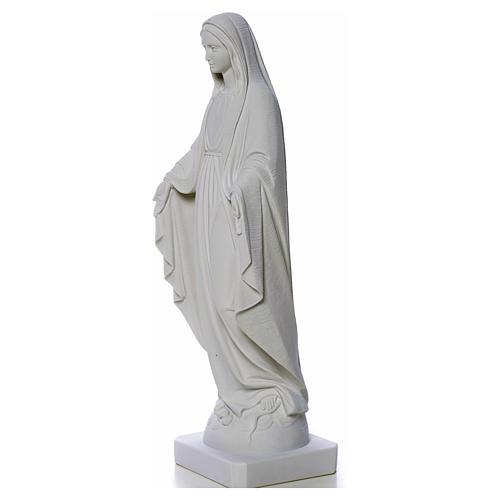 Statua Madonna Miracolosa polvere di marmo 50-80 cm 7