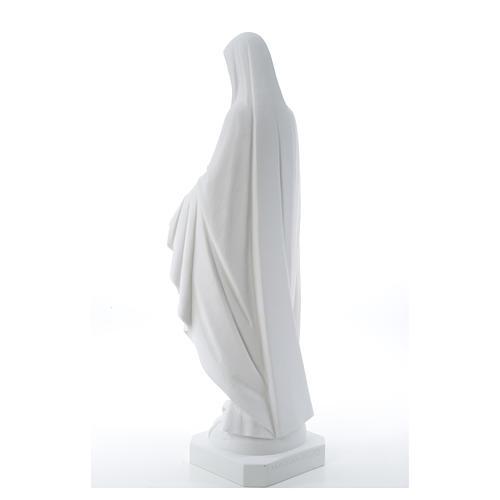 Statua Madonna Miracolosa polvere di marmo 50-80 cm 11