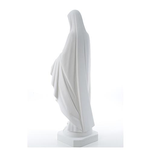 Statua Madonna Miracolosa polvere di marmo 50-80 cm 3
