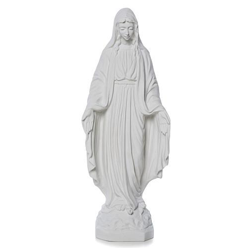 Virgen de la Milagrosa mármol de carrara 50 cm 1