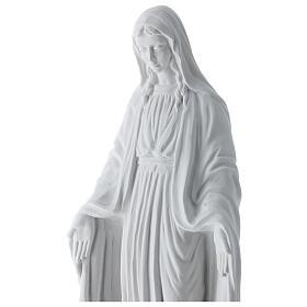 Nossa Senhora Milagrosa mármore branco Carrara 50 cm