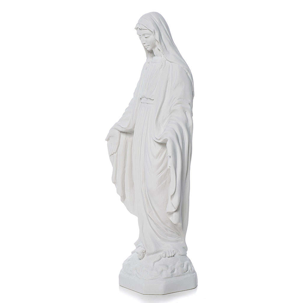 Our Lady of Miracles statue made of composite marble 30-50 cm 4