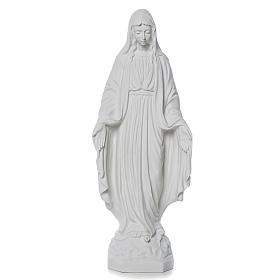 Our Lady of Miracles statue made of composite marble 30-50 cm s1