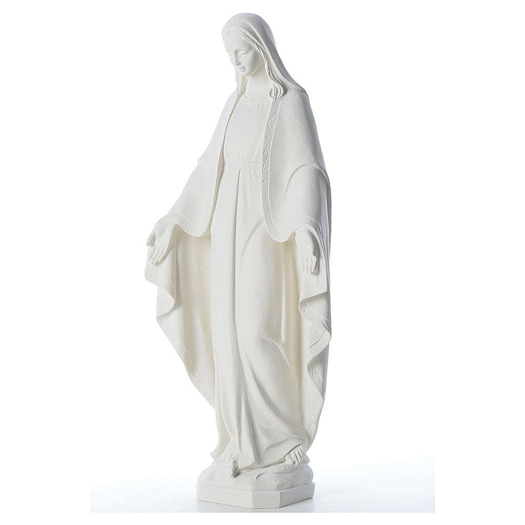 Nuestra Señora de la Milagrosa 62cm polvo mármol 4