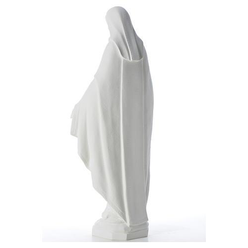 Statue Vierge Miraculeuse poudre de marbre 62 cm 7