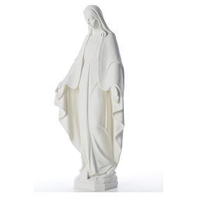 Statua Madonna Miracolosa 62 cm polvere di marmo s6