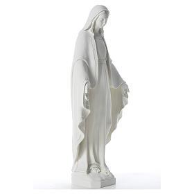Statua Madonna Miracolosa 62 cm polvere di marmo s4