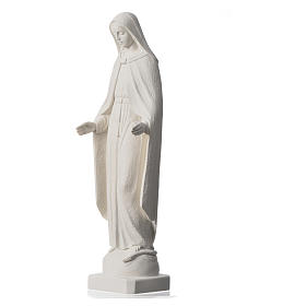 Our Lady of Miracles statue in reconstituted marble, 62 cm s8