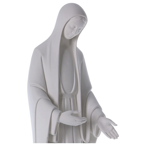 Our Lady of Miracles statue in reconstituted marble 60-80 cm 2