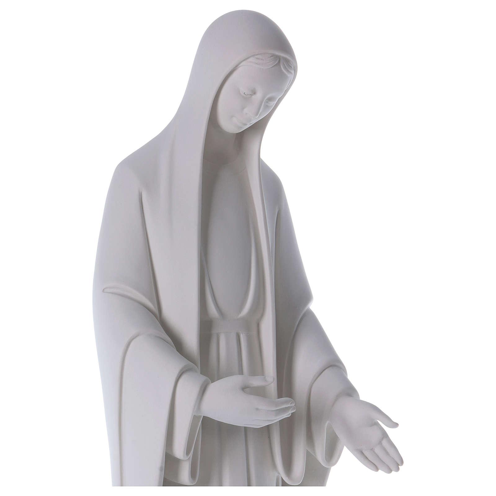 Miracolosa braccia sulla sinistra, marmo bianco 60-80 cm 4