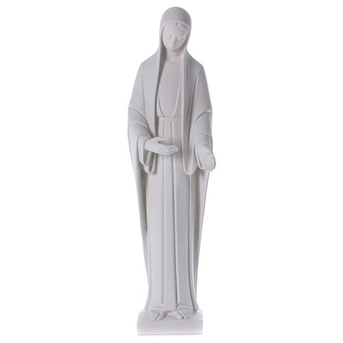 Our Lady of Miracles statue in reconstituted marble 60-80 cm 1