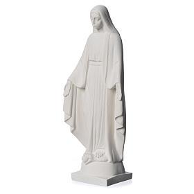 Virgen milagrosa en mármol sintético 25 cm s7