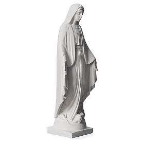 Our lady of Miracles statue made of reconstituted Carrara 25 cm s2