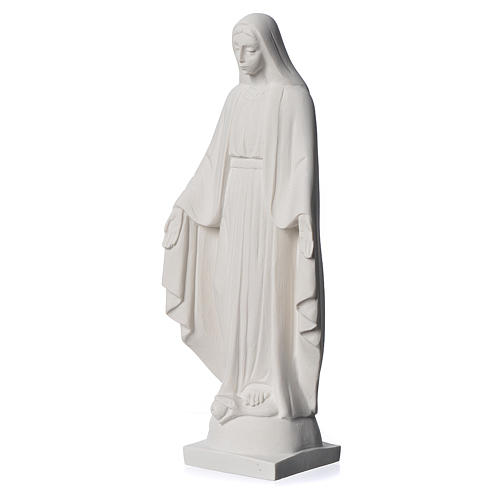 Our lady of Miracles statue made of reconstituted Carrara 25 cm 3
