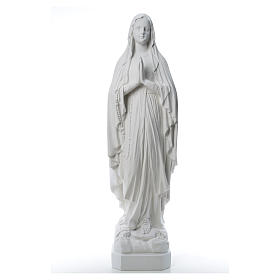 Our Lady of Lourdes statue made of reconstituted Carrara marble 31-130 cm s8