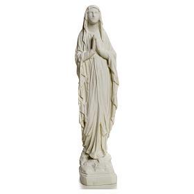 Statue Notre Dame de Lourdes poudre de marbre 31-130 cm s5