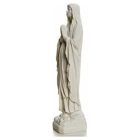 Statue Notre Dame de Lourdes poudre de marbre 31-130 cm s7