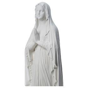 Madonna di Lourdes, statua in polvere di marmo 31-130 cm