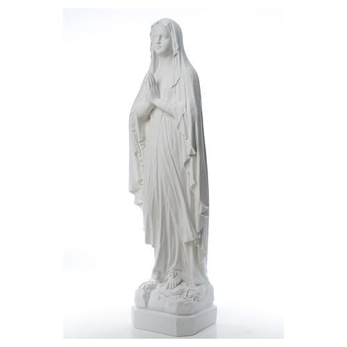 Madonna di Lourdes, statua in polvere di marmo 31-130 cm 9