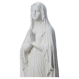 Our Lady of Lourdes statue made of reconstituted Carrara marble 31-130 cm s4