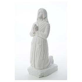 Statua Santa Bernadette  50 cm marmo sintetico s6