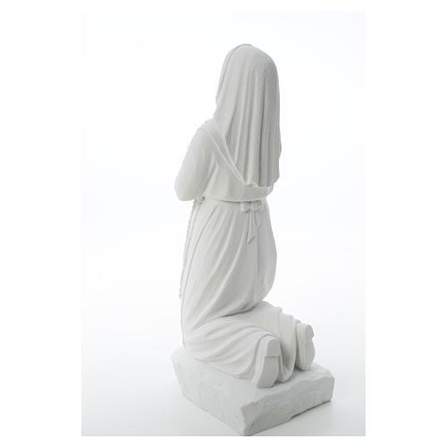 Statua Santa Bernadette  50 cm marmo sintetico 7
