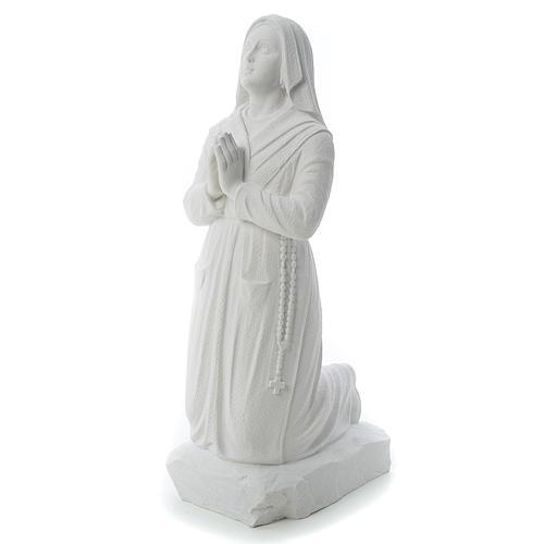 Statua Santa Bernadette  50 cm marmo sintetico 2