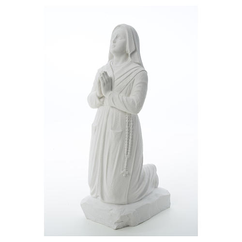 Figurka Święta Bernadeta marmur syntetyczny 50 cm 6