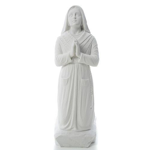 Figurka Święta Bernadeta marmur syntetyczny 50 cm 1